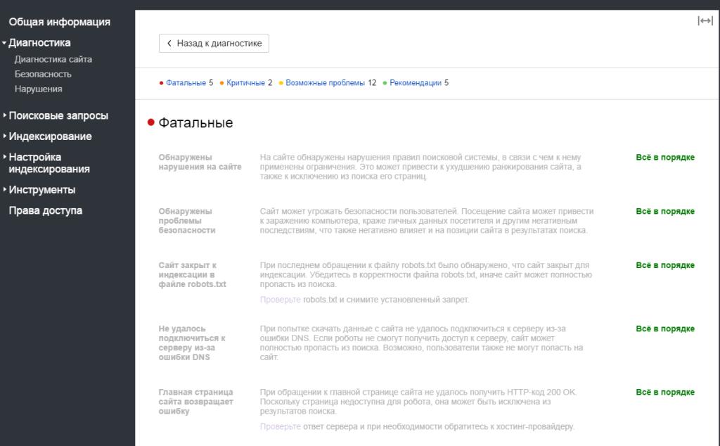 Рекомендации вебмастера для юридического сайта