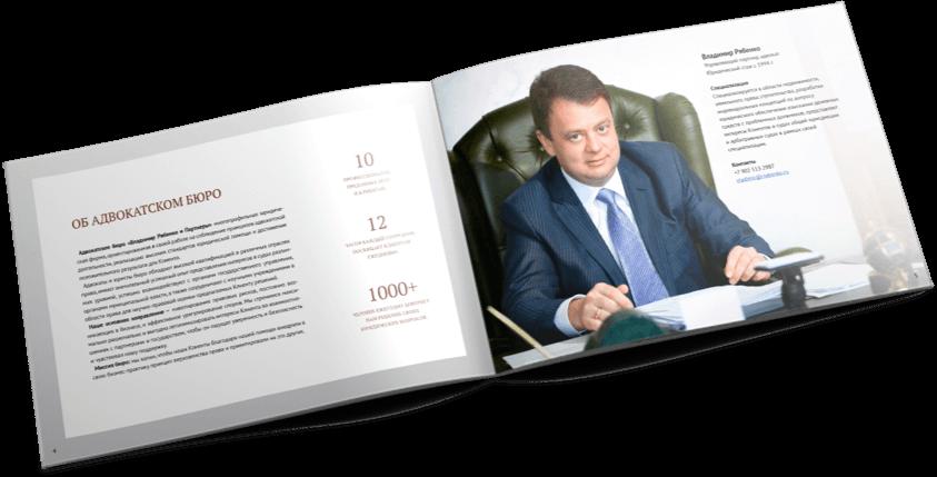 Владимир Рябенко и партнеры концепт презентации