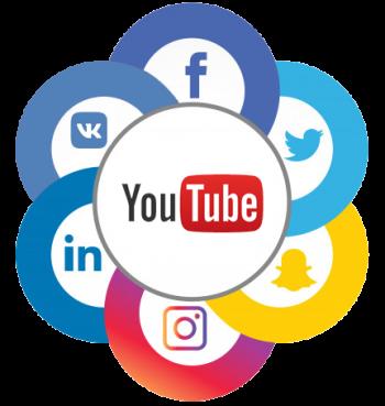 Реклама юридического YouTube-канала в социальных сетях